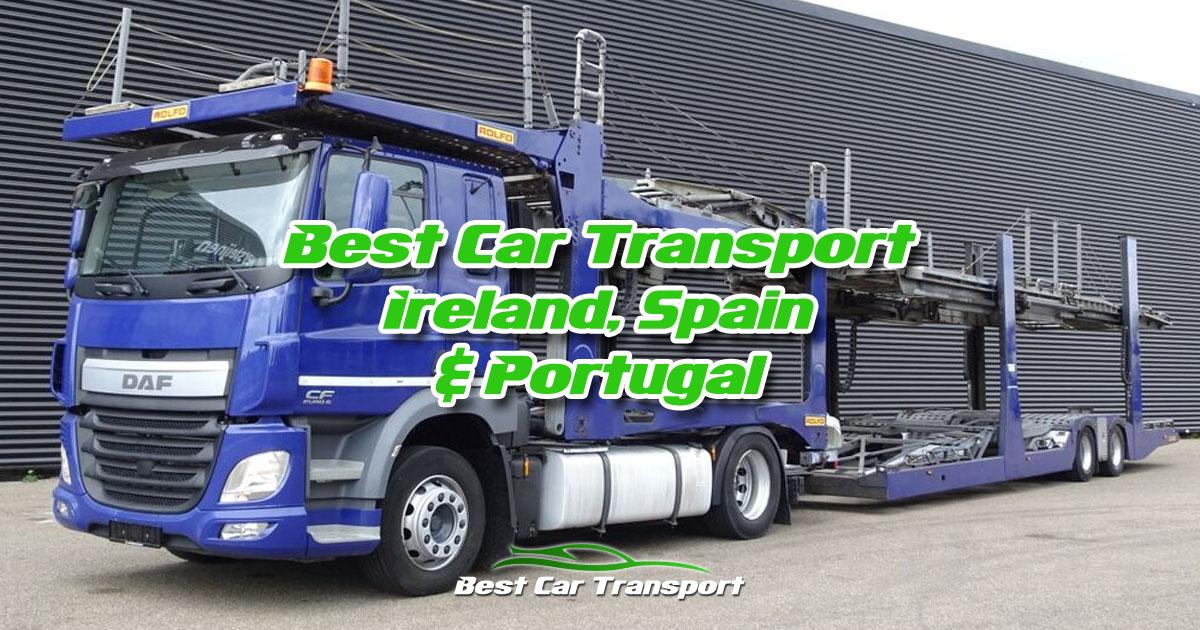 Best Car Transport Services Ireland Spain Portugal OG01
