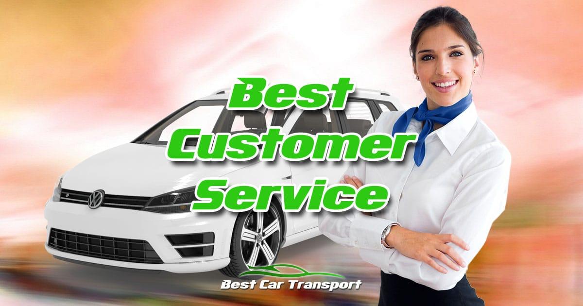 Best Customer Service from Best Car Transport OG01