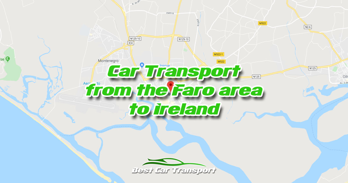 Car Transport from Faro Portugal to Ireland - Best Car Transport OG02