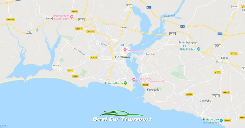 Car Transport from Portimao Portugal to Ireland - Best Car Transport OG01