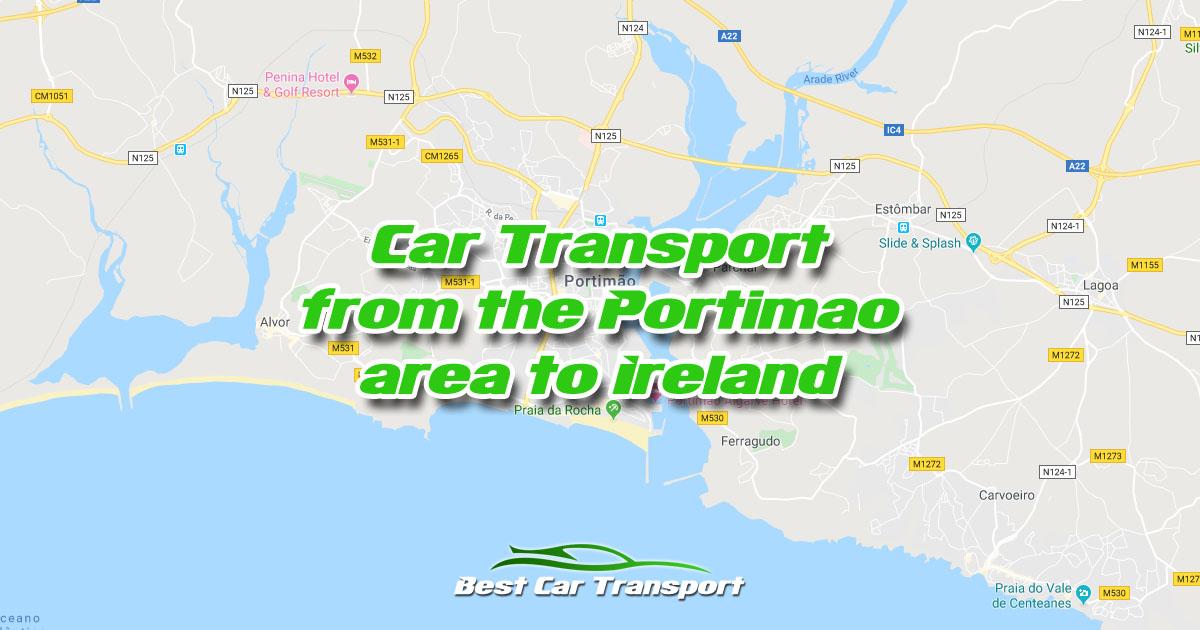Car Transport from Portimao Portugal to Ireland - Best Car Transport OG02