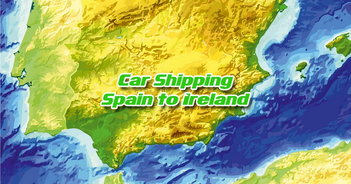 Car Transport from Spain to Ireland OG01
