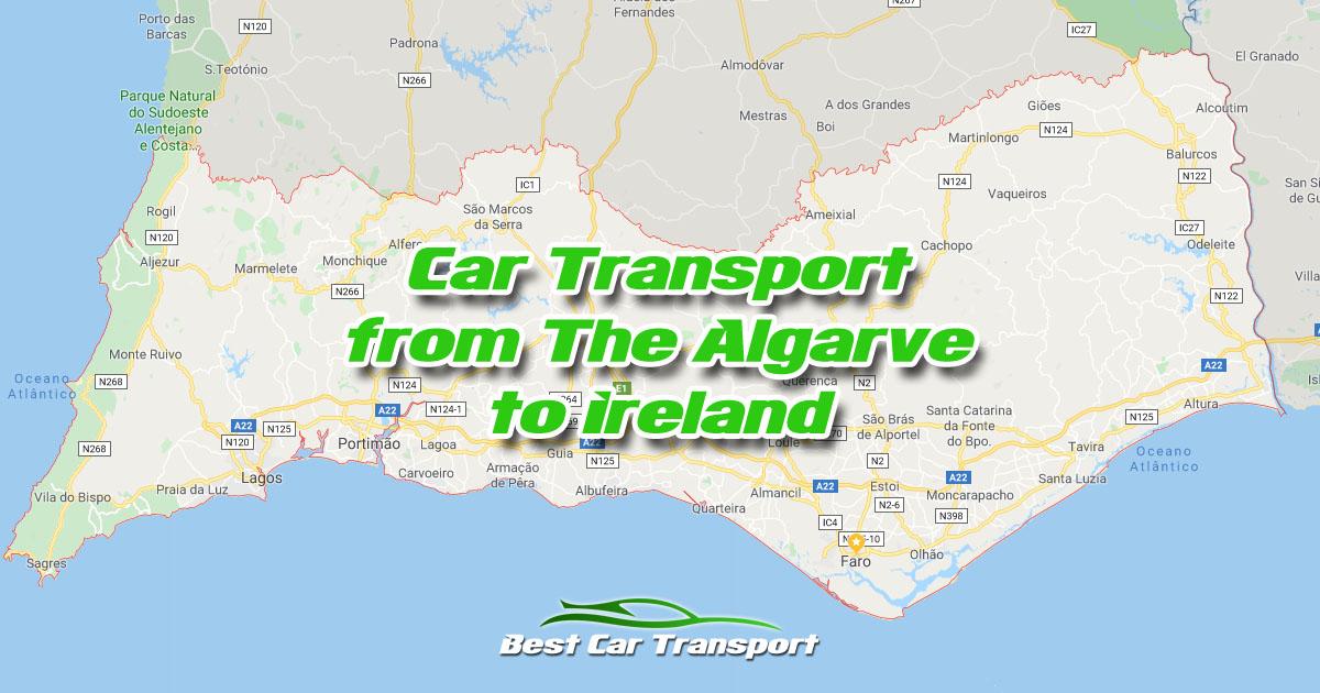 Car Transport from The Algarve Portugal to Ireland - Best Car Transport OG02