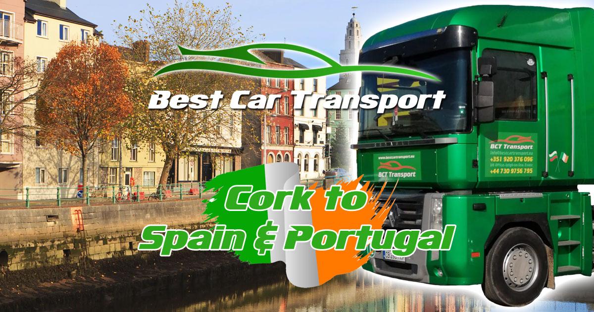 Car Transport from Cork to Spain & Portugal Best Car Transport OG01