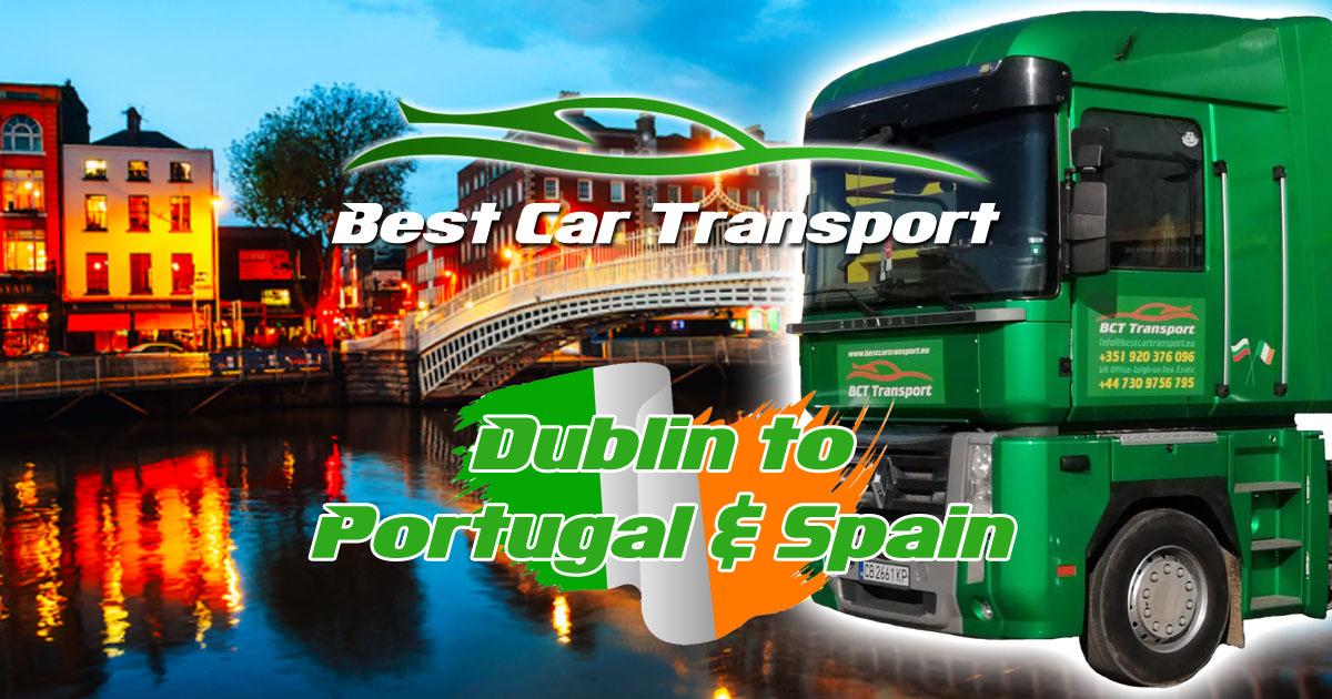 Car Transport from Dublin to Spain & Portugal Best Car Transport OG01